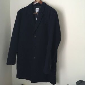 NWT wool gap overcoat